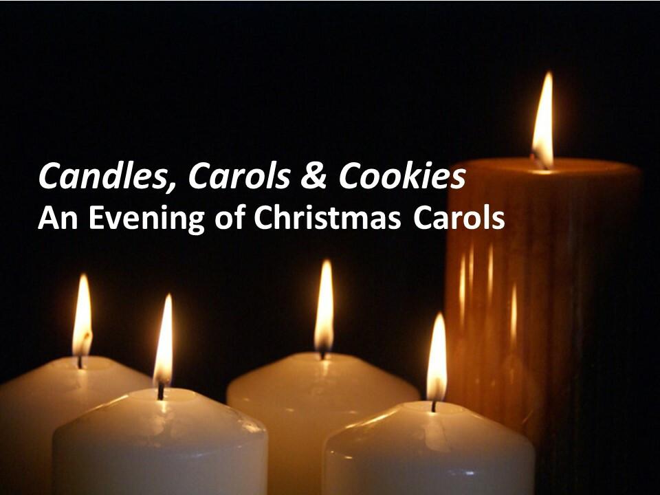 Candles, Carols & Cookies